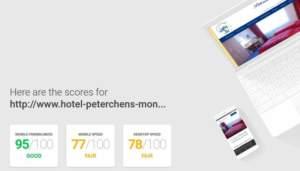 Testergebnis des Mobile-Friendly von Google