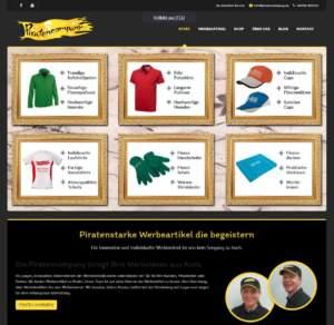 Die neue Website der Piratencompany aus Ronneburg